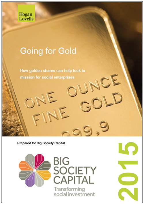 Big Society Capital - Going For Gold