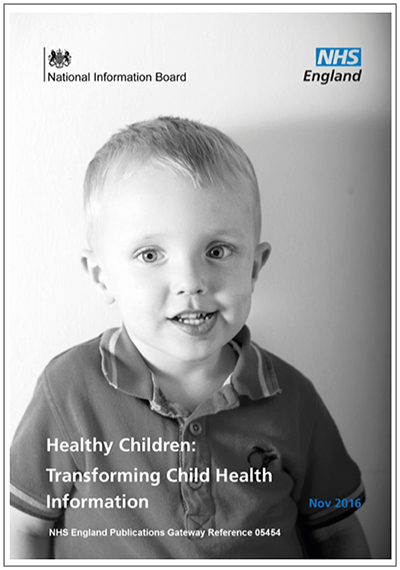 NHS England Children Transforming Health Information
