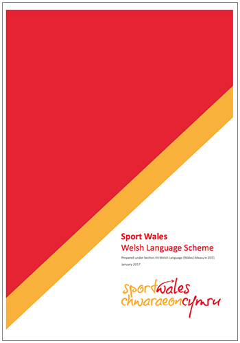 Sport Wales Welsh Language Scheme