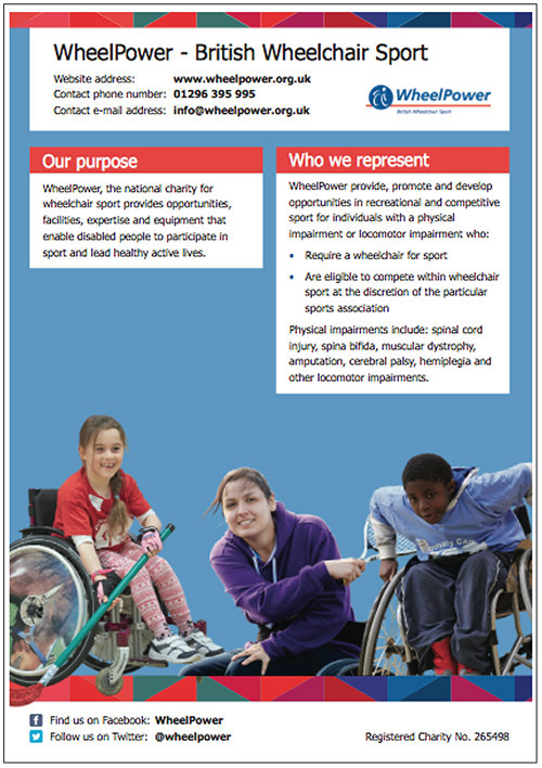 WheelPower - British Wheelchair Sport