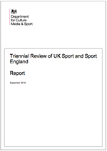 Triennial Review of UK Sport and Sport England